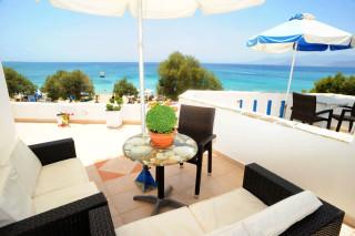 accommodation deep blue hotel balcony
