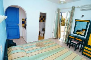 accommodation deep blue hotel room interior