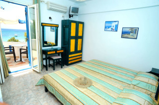 accommodation deep blue hotel room with sea view