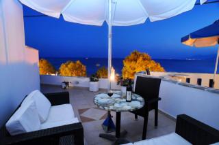 naxos deep blue hotel agios prokopios view